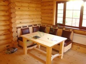 возможная отделка комнаты отдыха бани 18 м2