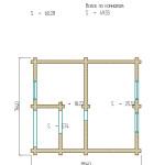 проект второго этажа двухэтажной бани 91 м2