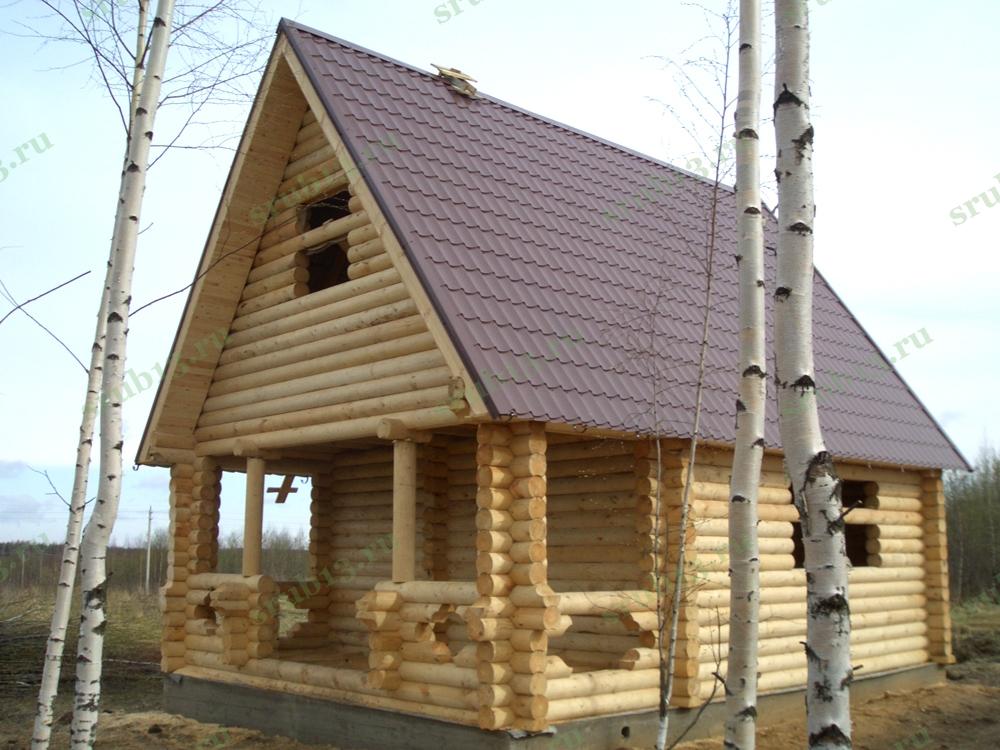 Дом из бревна 70 м2