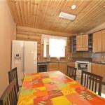 Сруб дома 233 м2 - кухня
