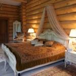 Сруб дома 186 м2 - спальня