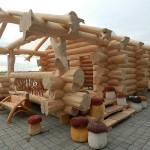 Сруб дома из бревна(2)